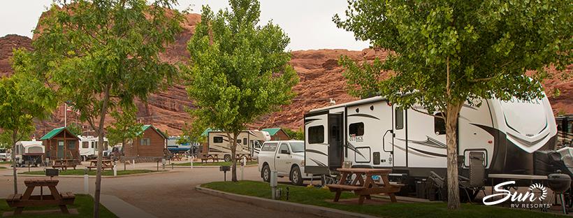 sun rv resort near moab utah