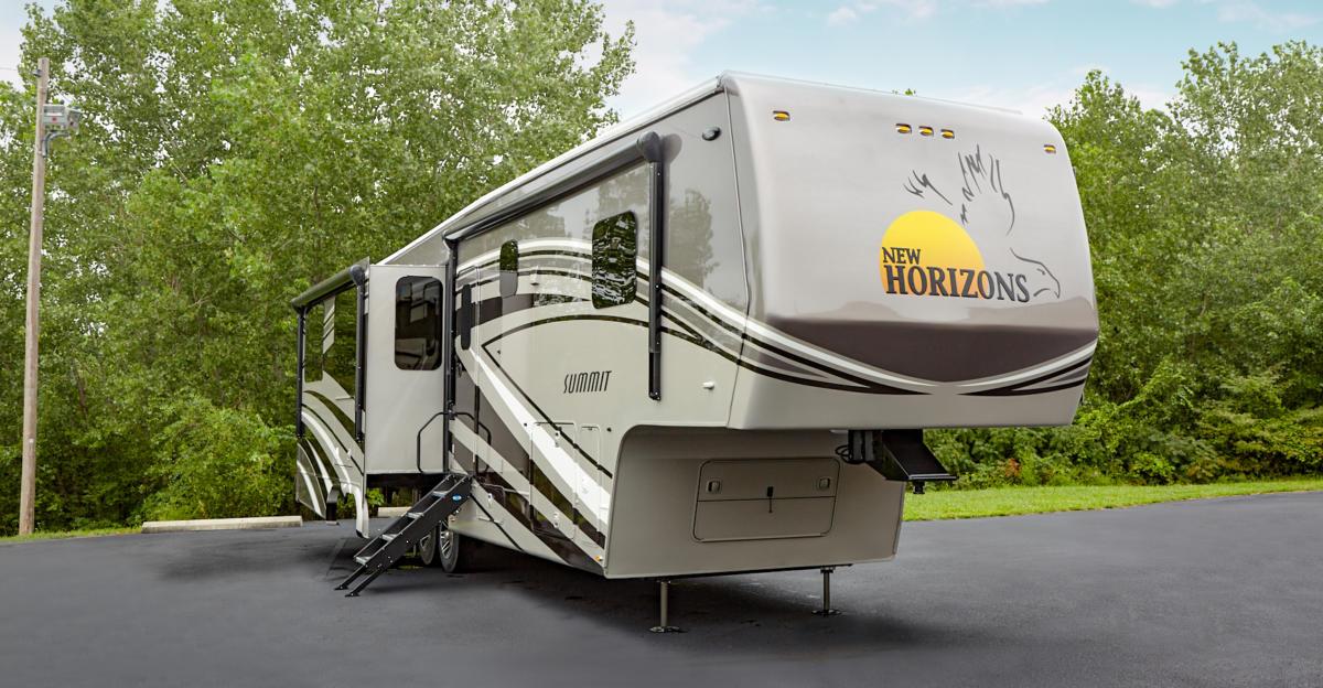 New Horizons Summit fifth-wheel RV