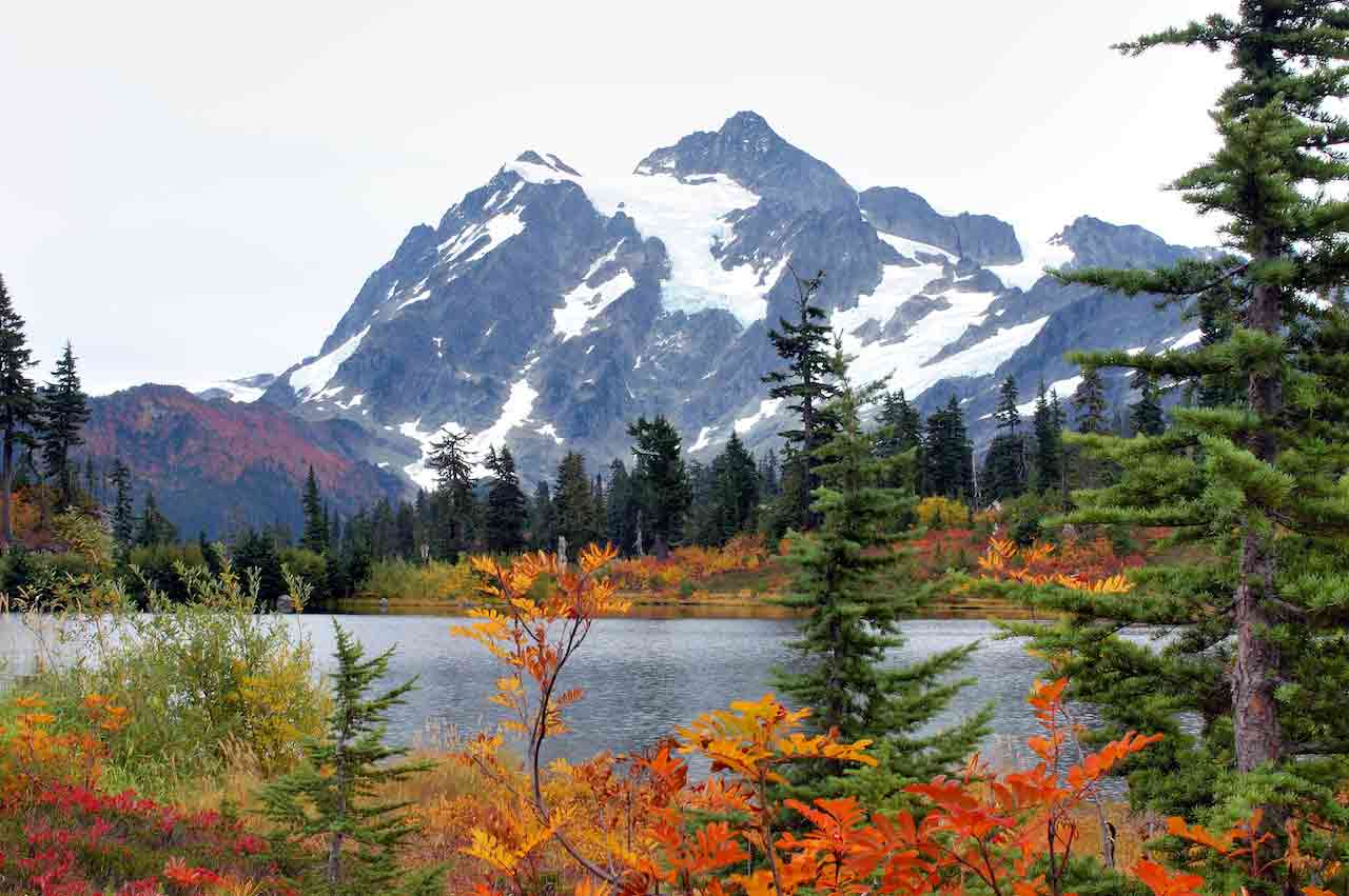 Mt. Baker-Snoqualmie National Forest view