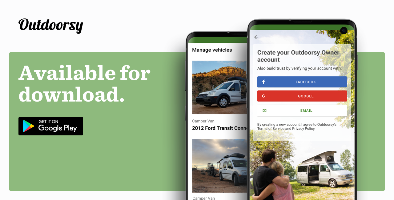Outdoorsy launches new Android app powering outdoor experiences