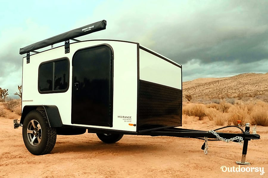 Hiker teardrop trailer