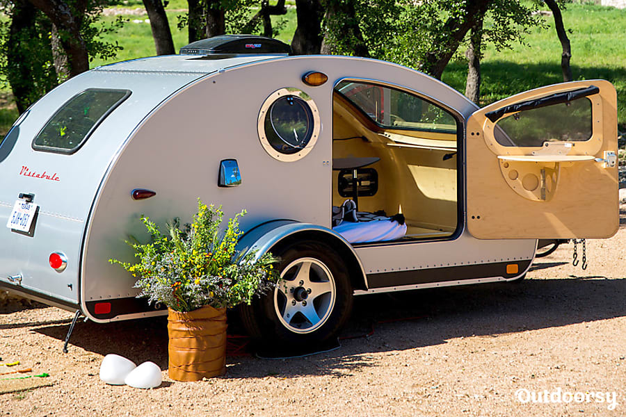 Custom teardrop trailers: Tiny but mighty