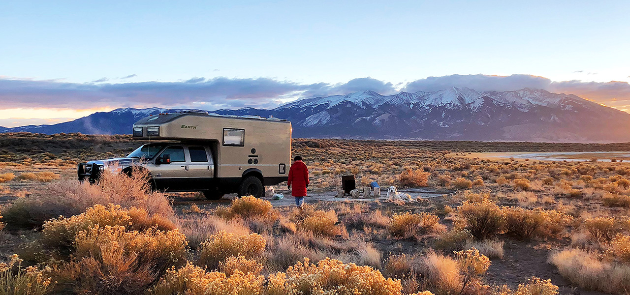 dispersed RV camping