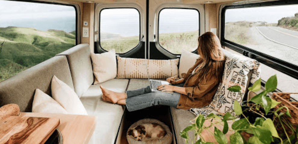 Roll Like Zoey Deutch in a Sprinter Campervan