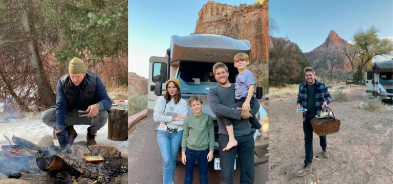 Road Trip Diaries: Curtis Stone and an RV Thanksgiving