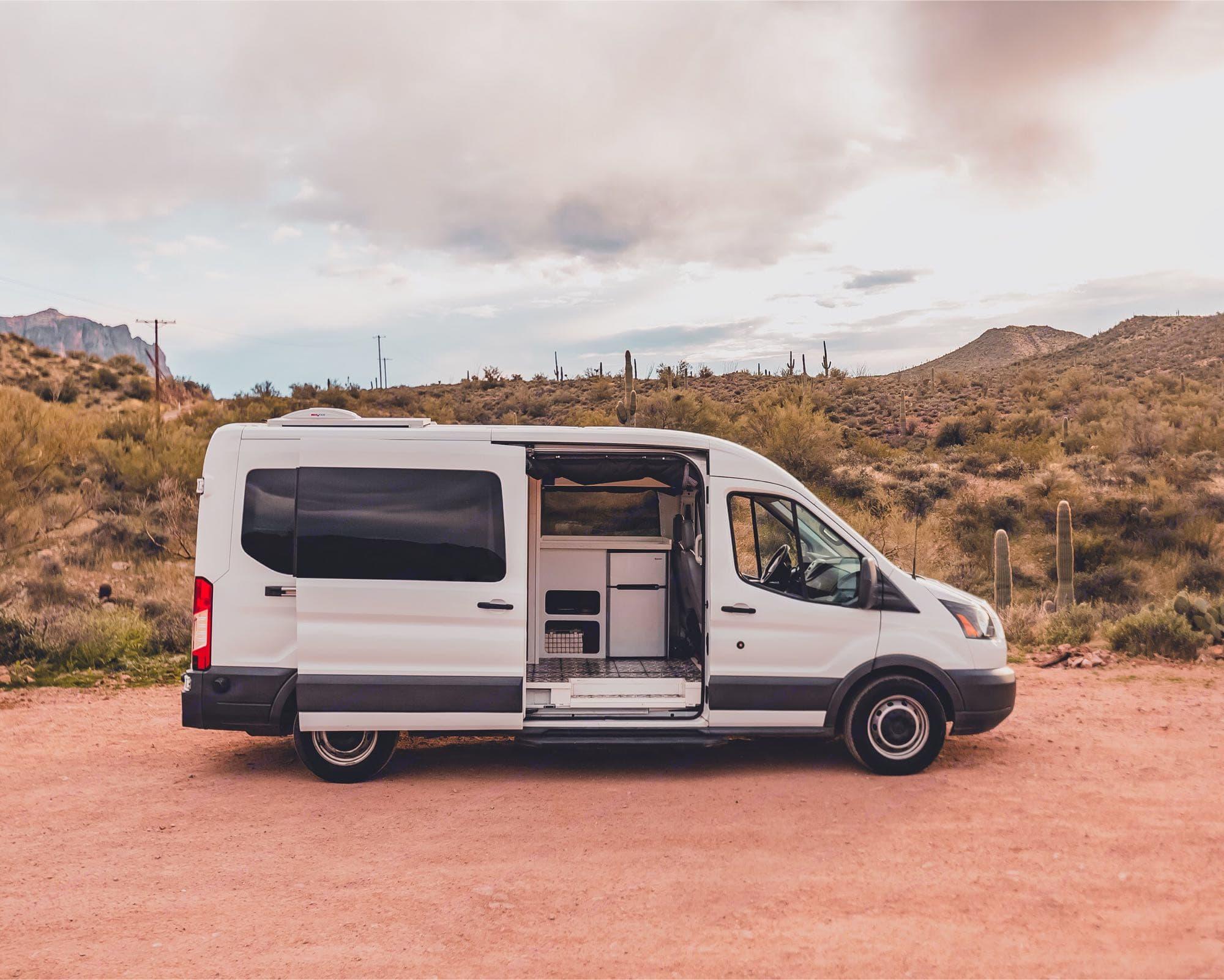A Ford Transit conversion van is a #vanlife dream