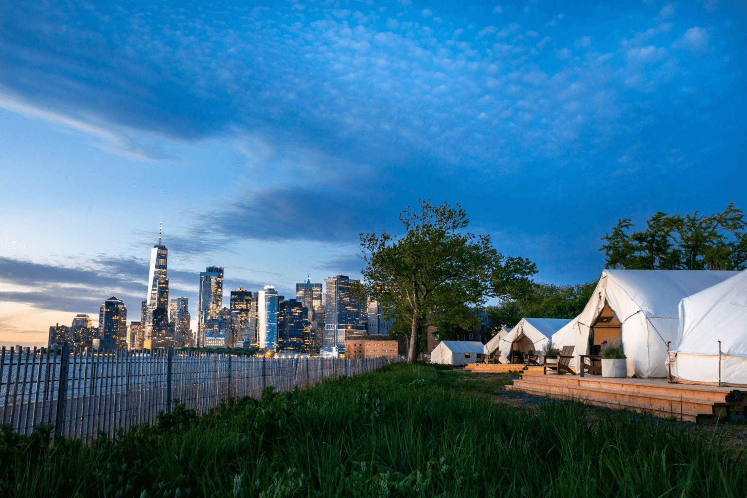 Glamping in New York with Collective Retreats