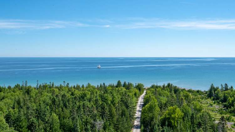 campgrounds with cabins in michigan