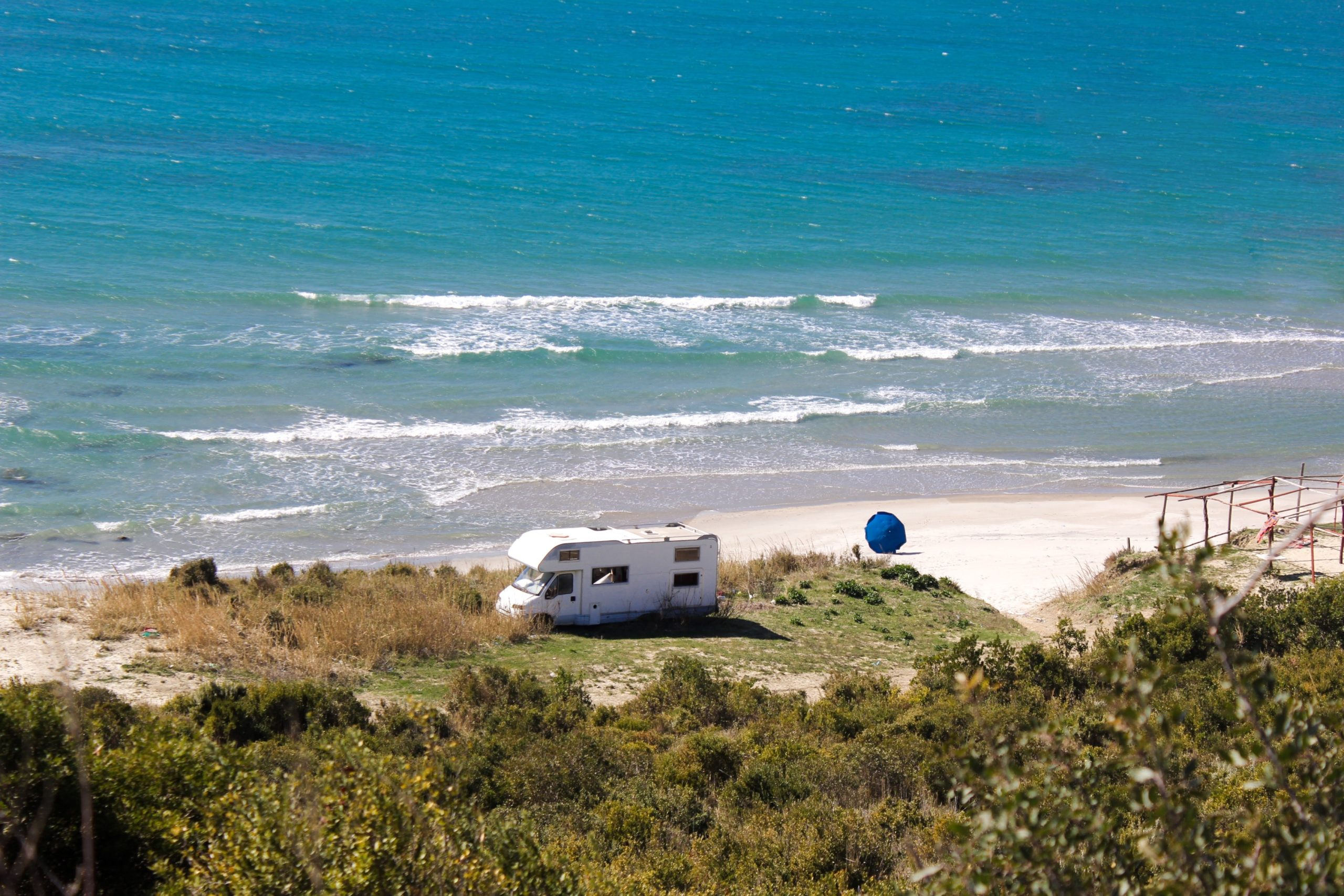 15 RV campgrounds on the beach