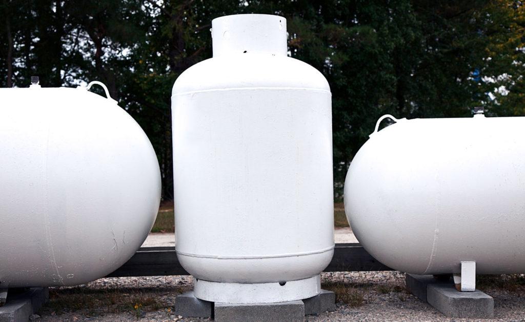 rv propane tank sizes