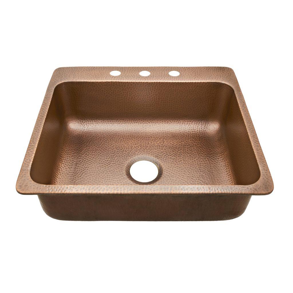 copper rv sink