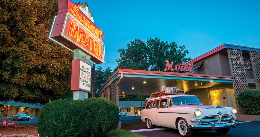 retro motel in north carolina