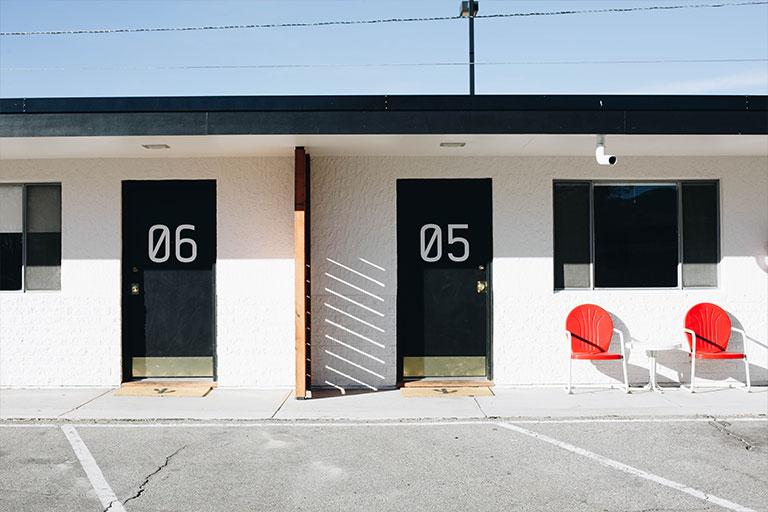 retro motel in colorado