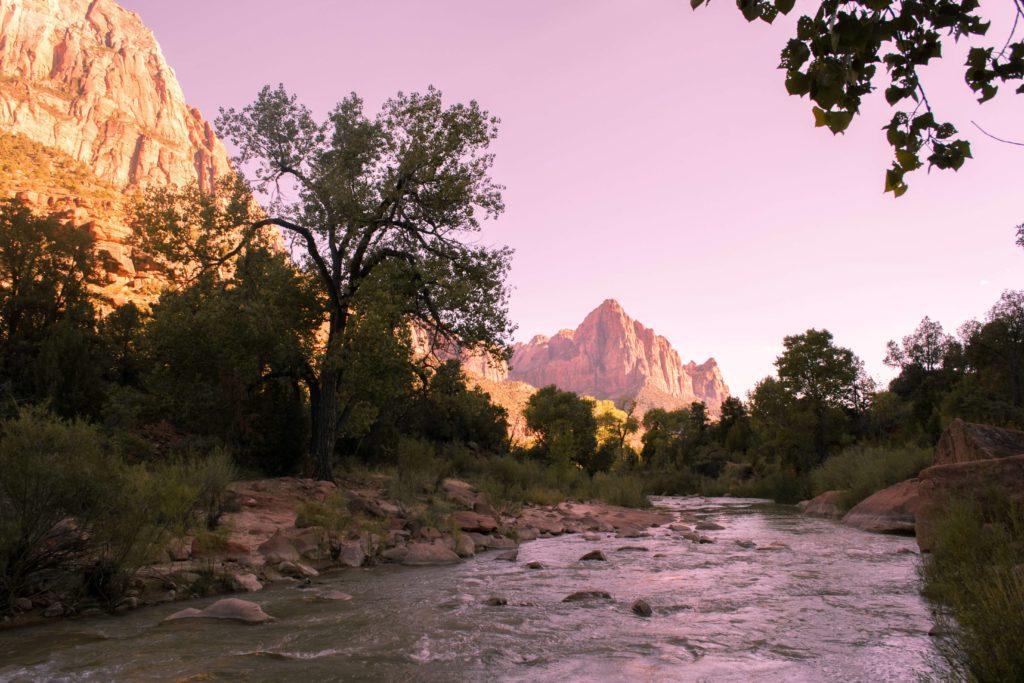 rv sites near Zion National Park