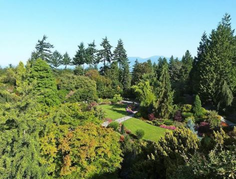 Best picnic spots in every Canadian province. Queen Elizabeth Park Vancouver BC